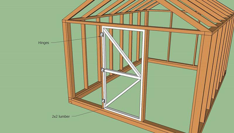 DIY - Wood Greenhouse