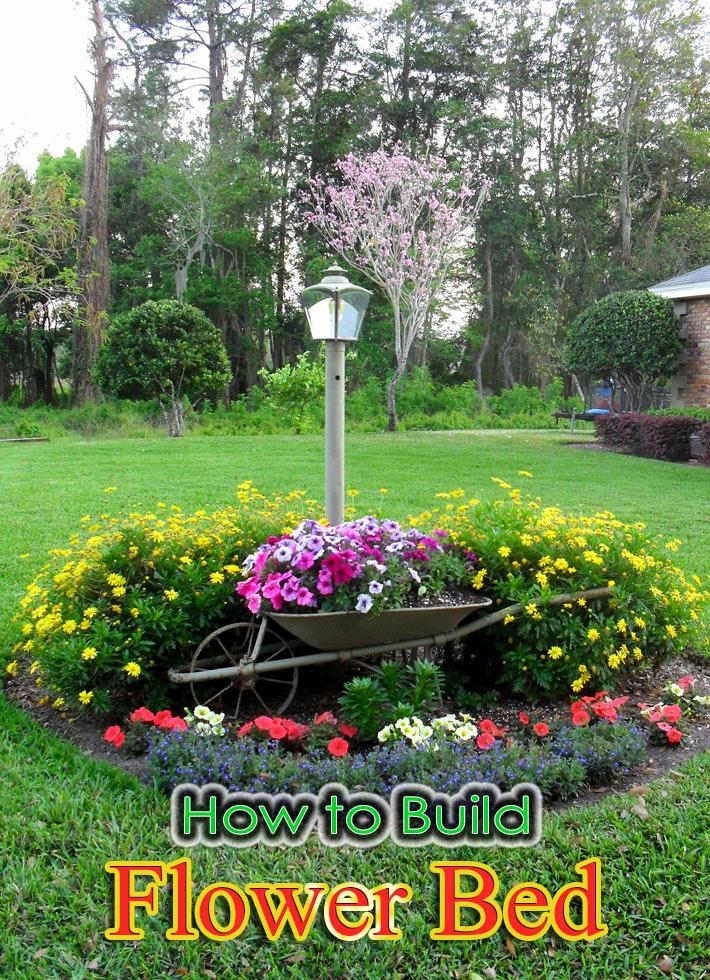 Quiet Corner How To Build A Flower Bed Quiet Corner
