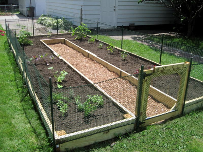 How To Build A U Shaped Raised Garden Bed .