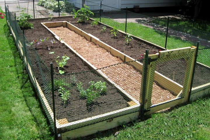 How to Build a U Shaped Raised Garden Bed Quiet Corner