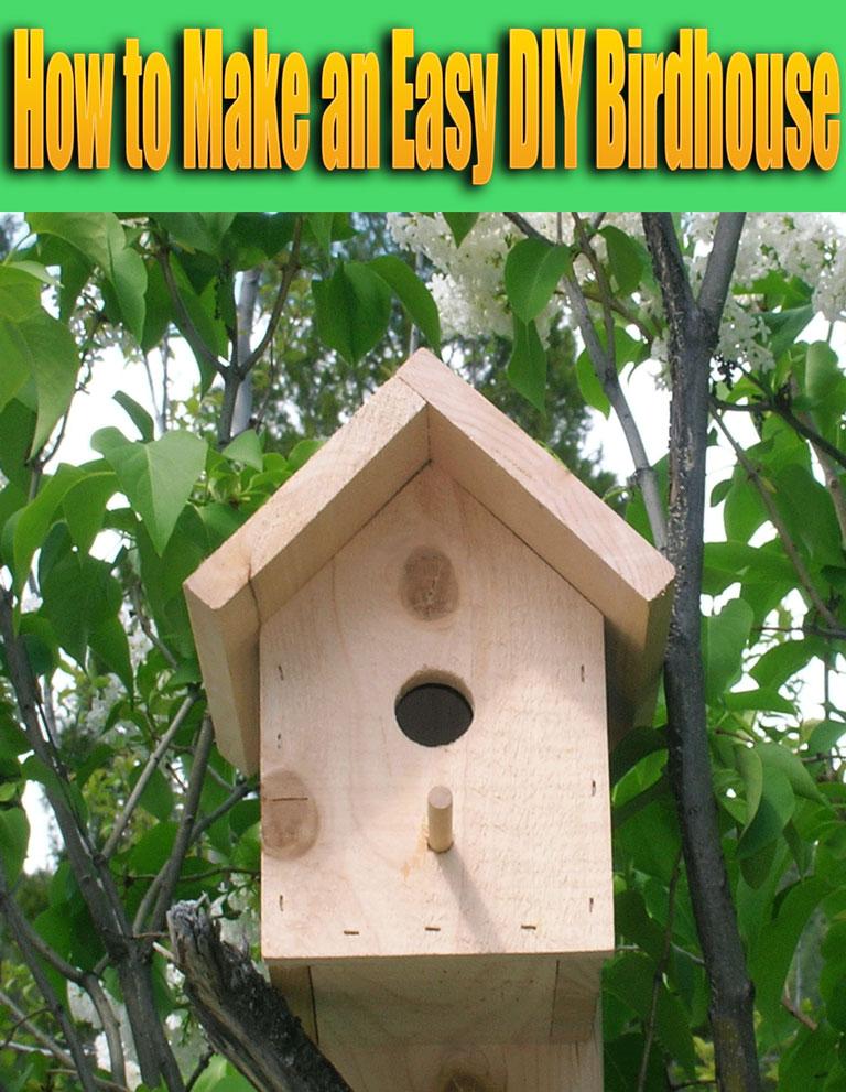 Quiet Corner How To Make An Easy Diy Birdhouse Quiet Corner
