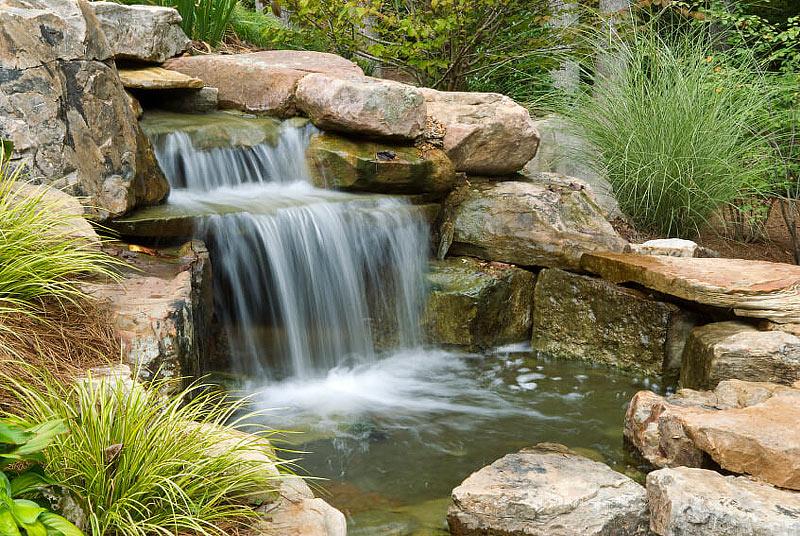 Quiet Corner:Inspiring Backyard Pond Ideas - Quiet Corner