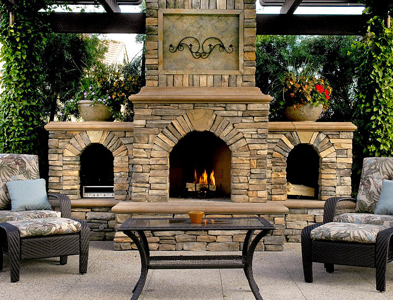 Inspiring Outdoor Fireplace Ideas Quiet Corner