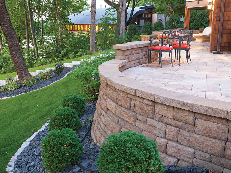 Inspiring Retaining Walls Ideas