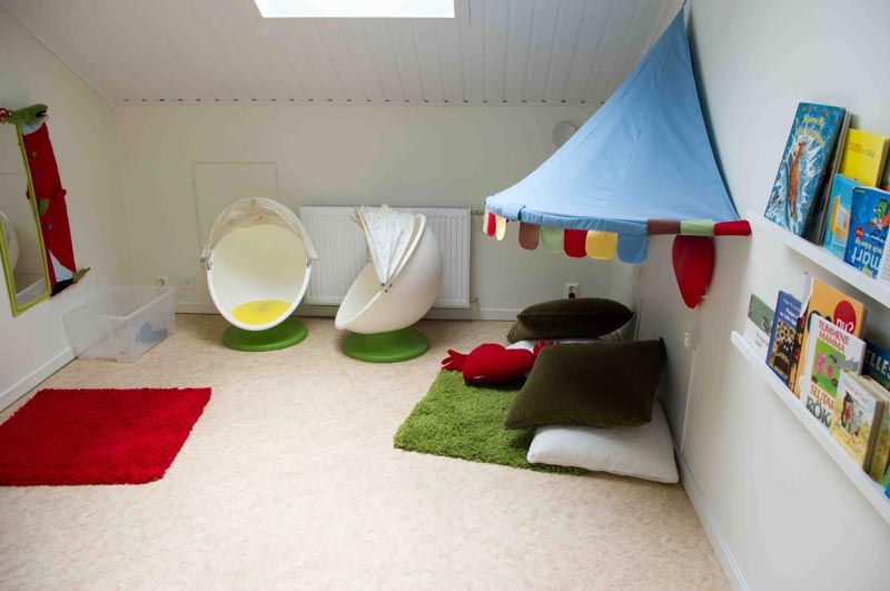 Kids Playroom Design Ideas - Quiet Corner