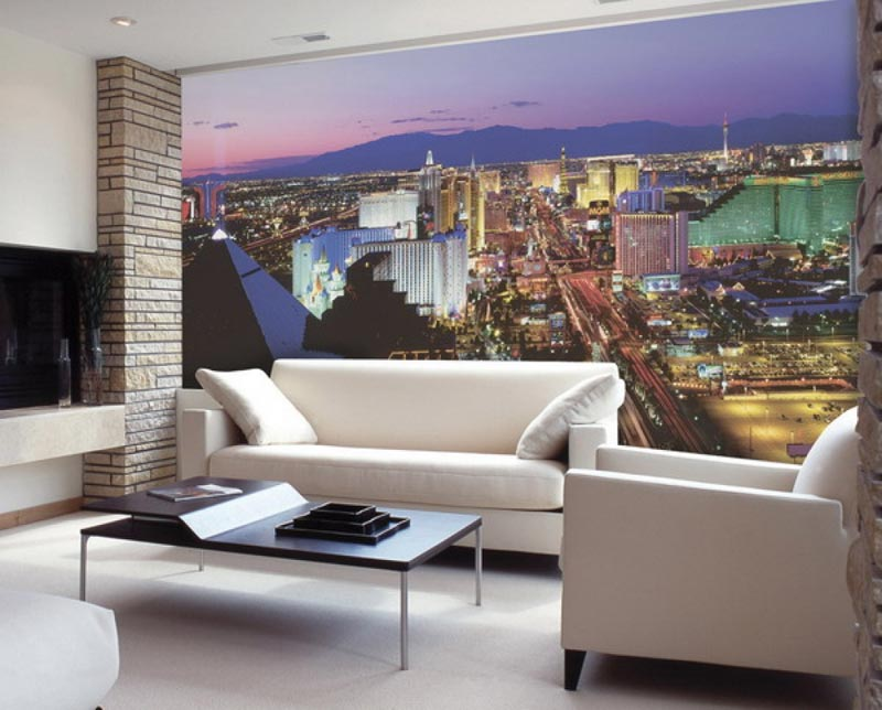 Living Room Photo Wallpapers and Wall Art (16)