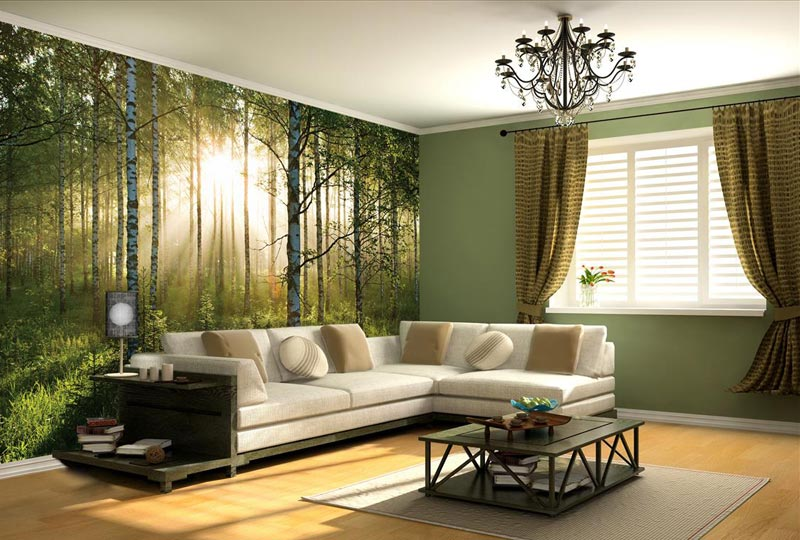 Living Room Photo Wallpapers and Wall Art (3)