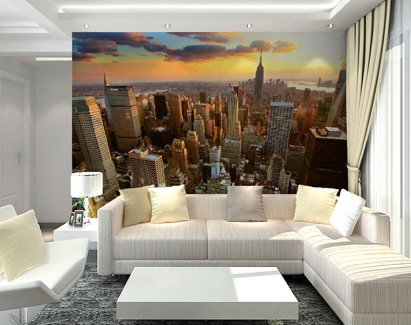 Living Room Photo Wallpapers and Wall Art (7)