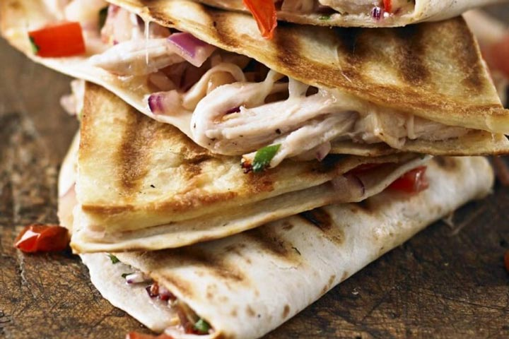 Quick and Easy Turkey Quesadillas