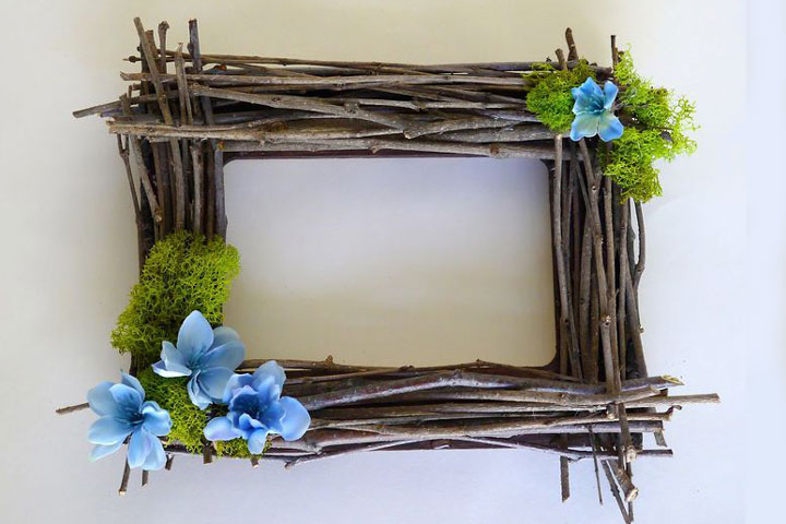 Rustic Twig Frame – DIY Tutorial
