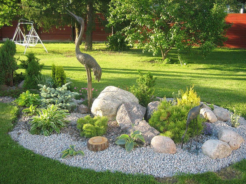 Landscaping Layout Ideas : Stunning rock garden design ideas quiet corner