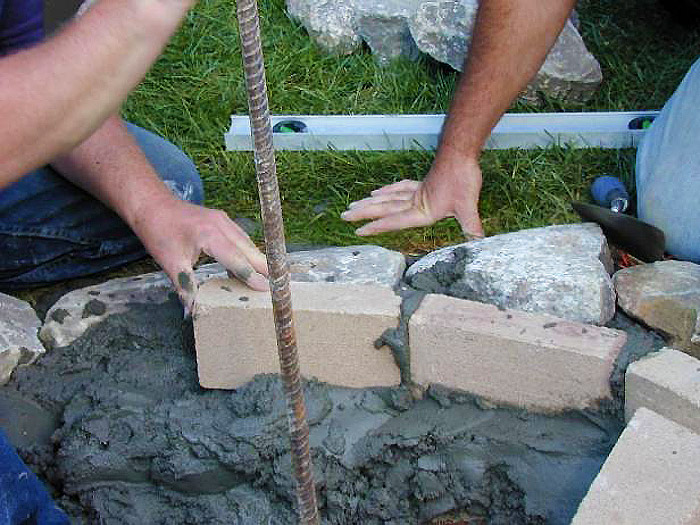 DIY - Stone Fire Pit for Your Garden