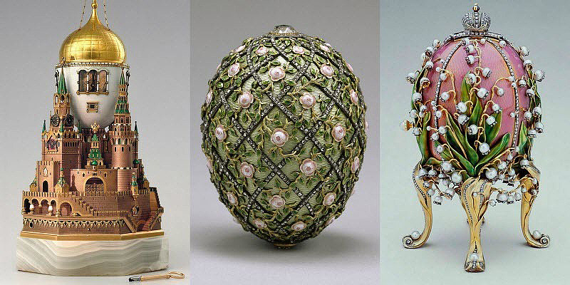 Faberg eggs mementos of a doomed dynasty quiet corner - Russian easter eggs history ...