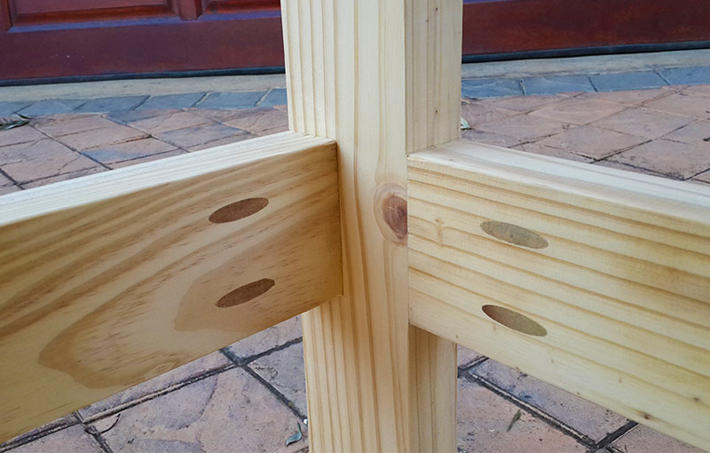 Wood Joinery - Pocket Joint