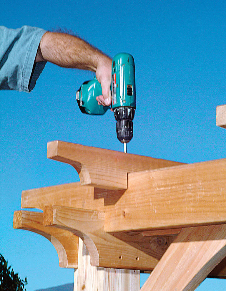 DIY – How to Build a Pergola