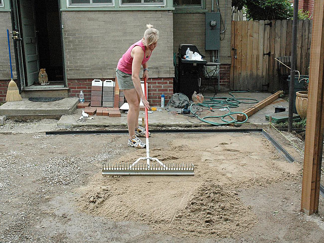 DIY - Brick Paver Patio