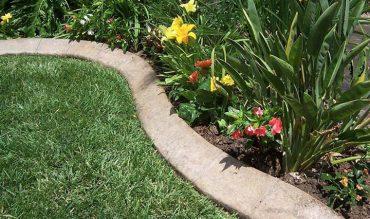 DIY – Concrete Garden Edging
