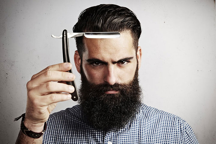 Barber Calls for Beard Tax