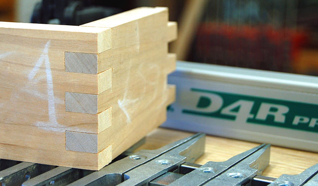 Wood Joinery - Box Joint
