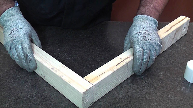 Wood Joinery - Butt Joint