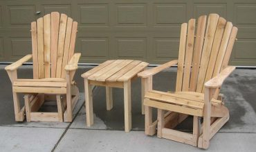 DIY – Adirondack Chair and Table