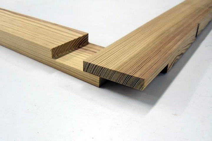 Wood Joinery Half Lap Joint Quiet Corner