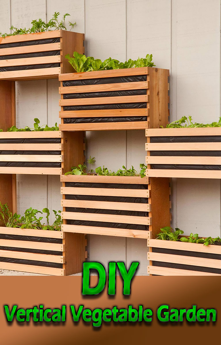 Craft Your Own Vertical Vegetable Garden - Quiet Corner