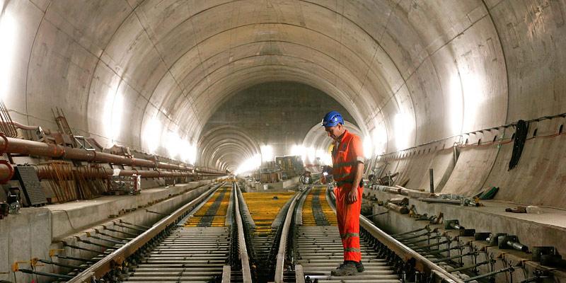 Gotthard Base Tunnel: World's Longest Tunnel