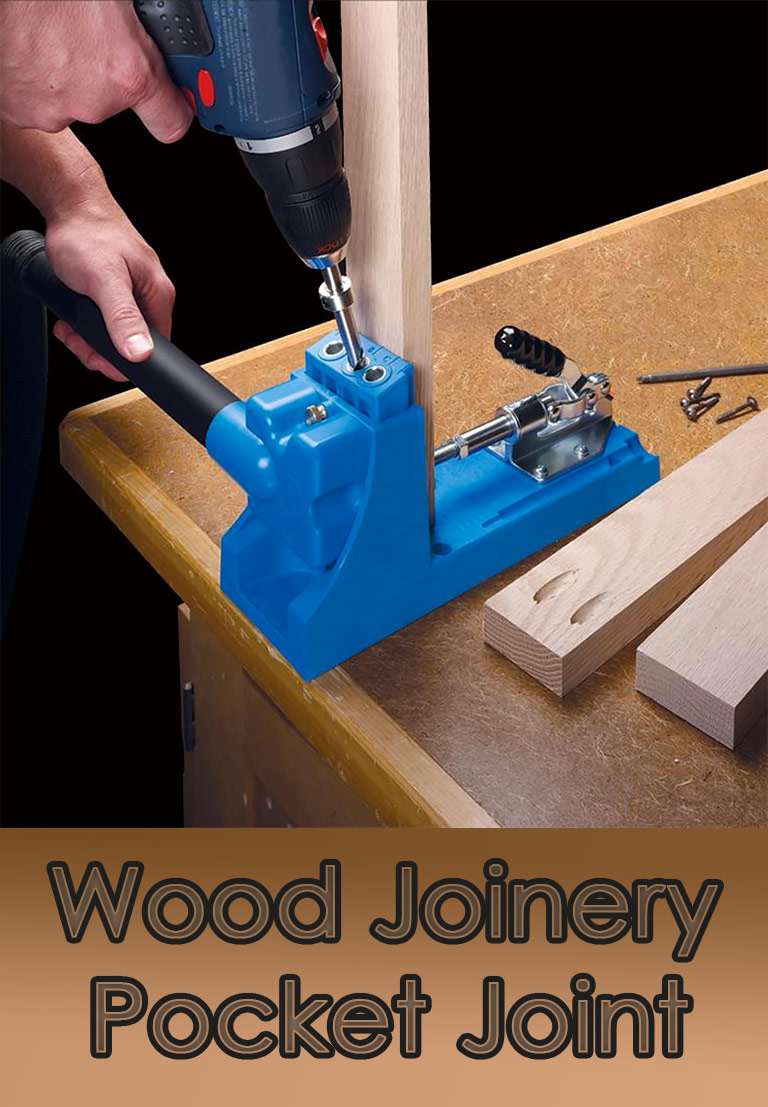 Wood Joinery – Pocket Joint