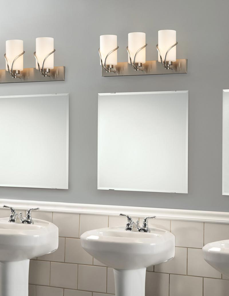 Bathroom Lighting Tips bathroom light fixtures tips - quiet corner
