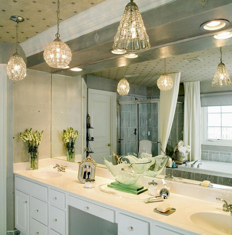Bathroom Hanging Light Fixtures 36 shabby chic bathroom light fixtures - granpaty