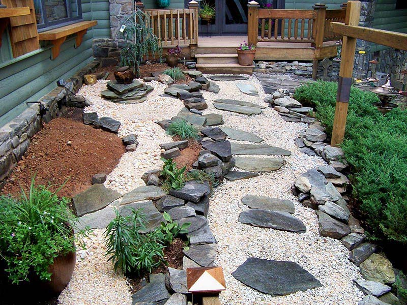 Wonderful Beautiful Rock Garden Ideas Part 17