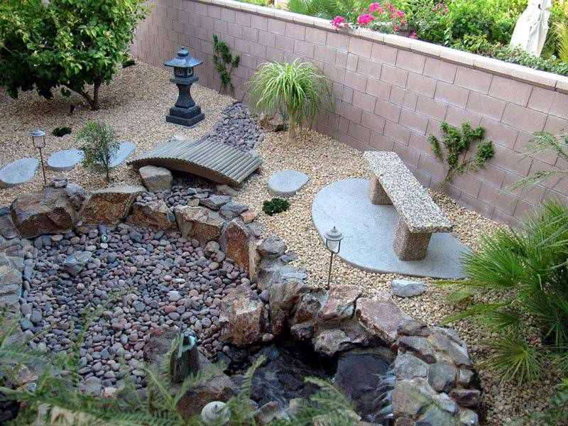 Beautiful rock garden ideas quiet corner for Outdoor landscape plans