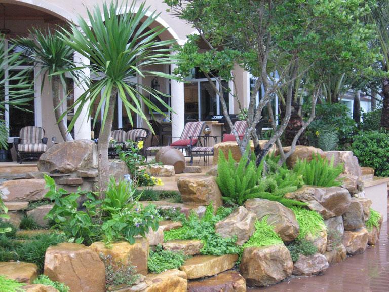 Beautiful Rock Garden Ideas - Quiet Corner on Small Garden Ideas With Rocks id=53957