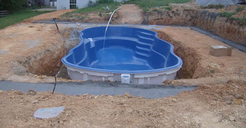 diy fiberglass pool kit mistakes and considerations quiet corner. Black Bedroom Furniture Sets. Home Design Ideas