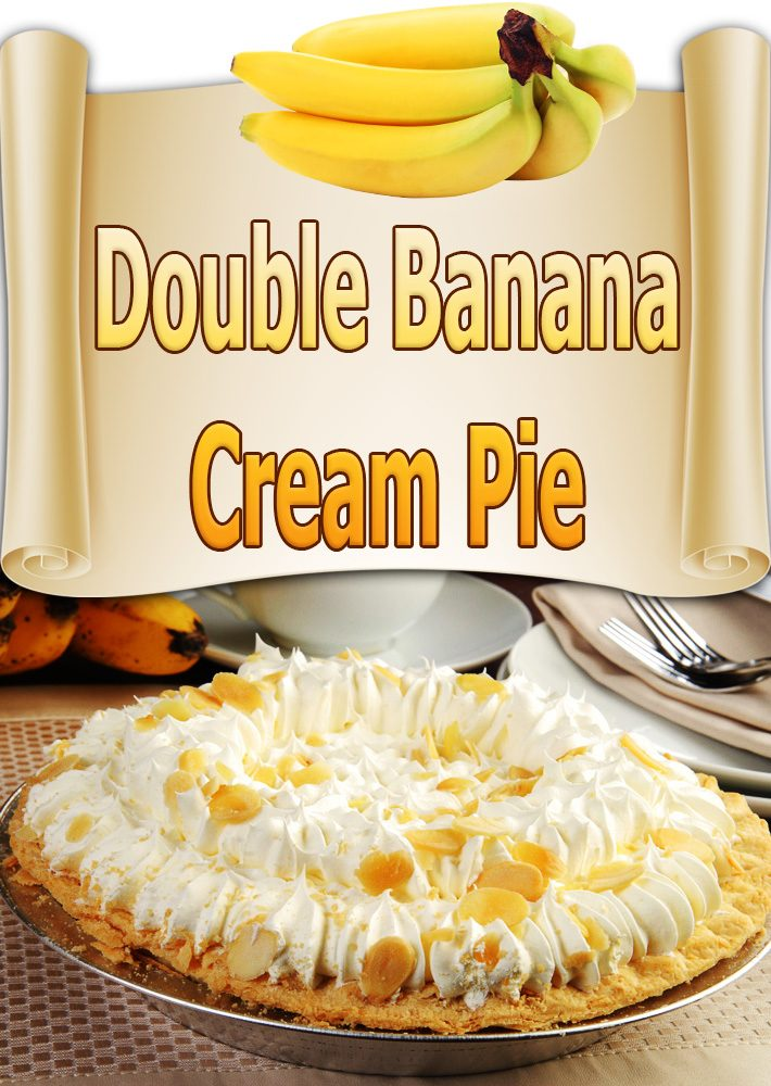 Double Banana Cream Pie