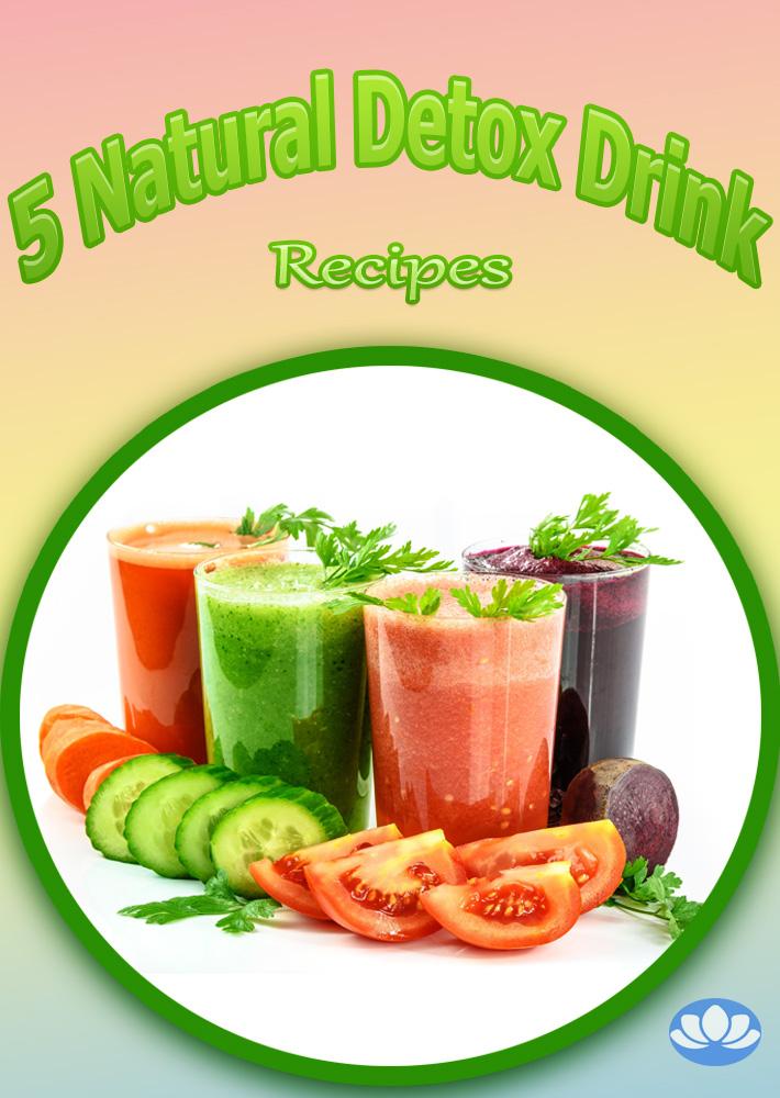 Five Natural Detox Drink Recipes - Quiet Corner