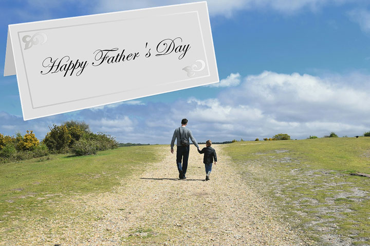 Happy Father's Day – What to write in a Father's Day card