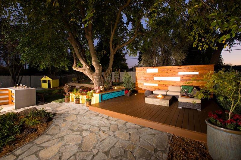 Ideas and Tips for Custom Front Yard and Backyard Decks ... on Custom Backyards id=56842