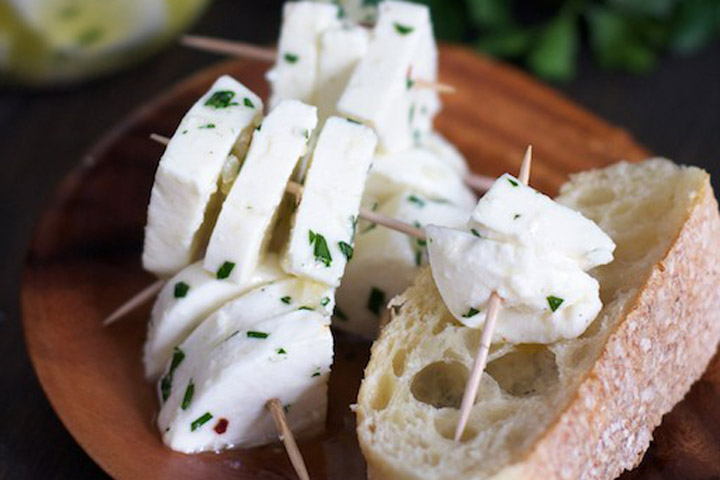 Marinated Mozzarella Recipe
