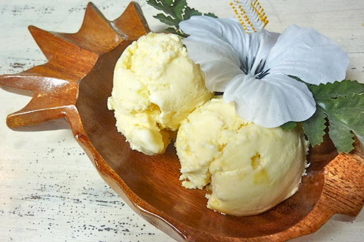 Pineapple Ice Cream Recipe