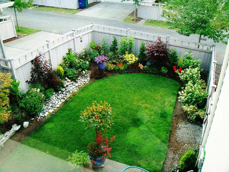 Small Lawn Ideas Sneide