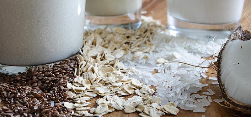 5 Vegan Alternatives to Milk