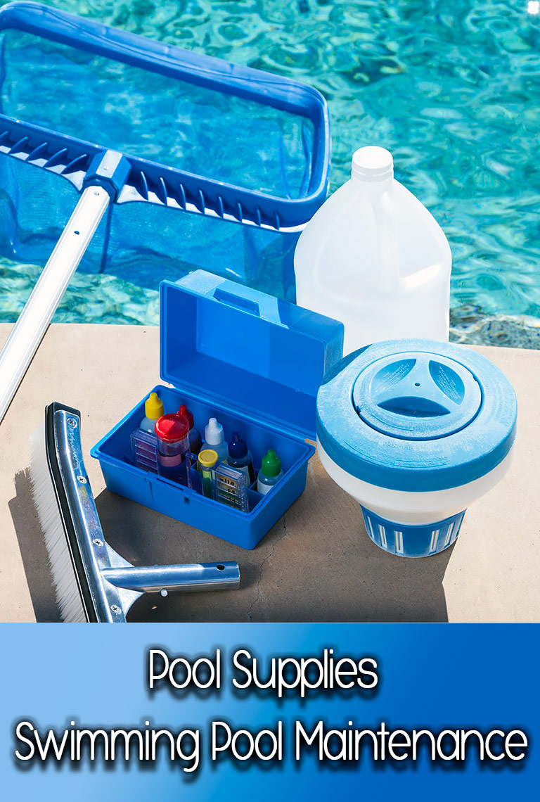 Pool supplies swimming pool maintenance quiet corner for Swimming pool accessories