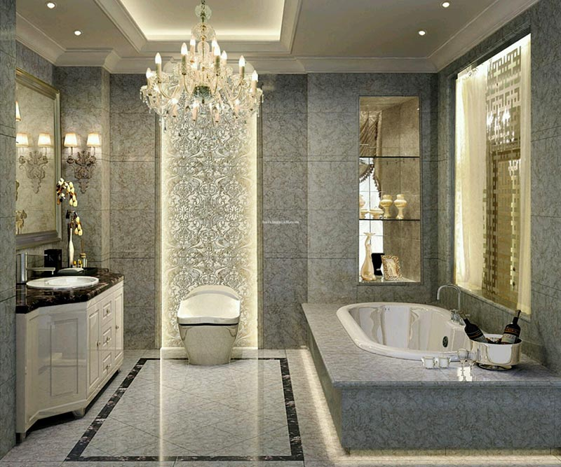 Classy Modern Bathroom Decorating Ideas