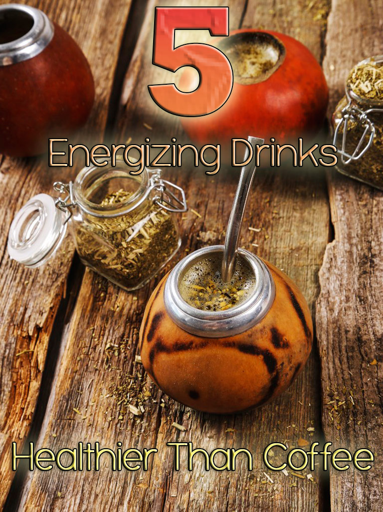 5 Energizing Drinks Healthier Than Coffee