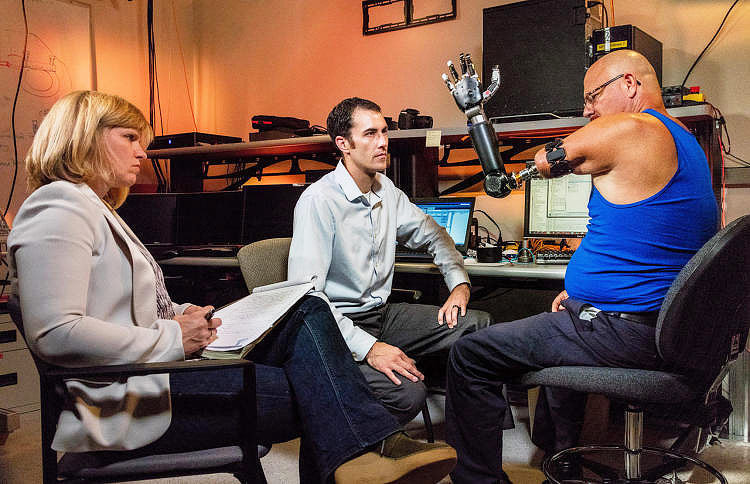 Prosthetic Limb Reaches New Levels of Operability