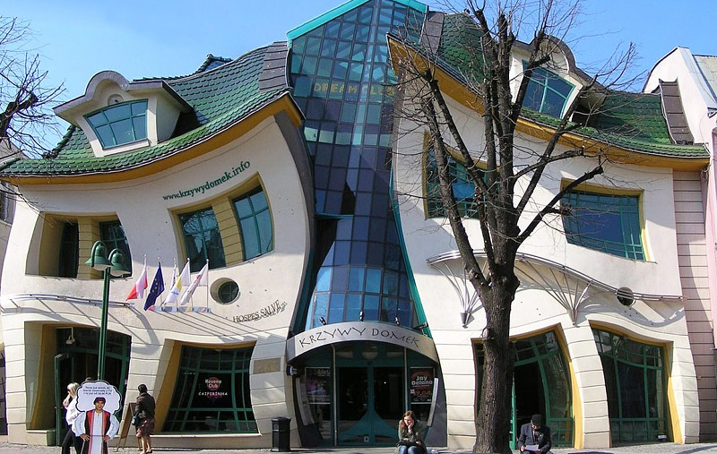 Top 12 World's Strangest Buildings