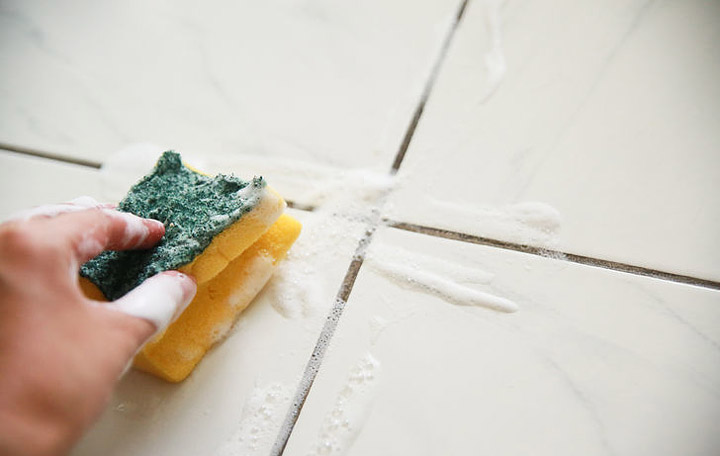 DIY - Homemade Grout Cleaner
