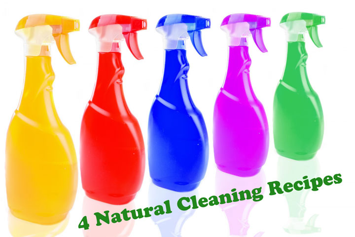 4 Natural Cleaning Recipes
